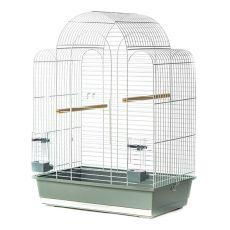 Klec pro papoušky SONIA III chrom - 54 x 34 x 75 cm