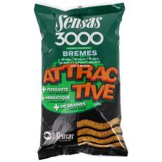 Krmení 3000 Attractive Bremes (cejn) 1kg