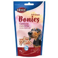 Soft Snack BONIES Light - kostičky - hovězí / krůtí 75 g