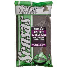 Krmení Big Bag HALIBUT & HEMP MIX (halibut+konopí) 2kg