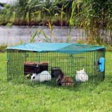 Voliéra pro morčata a králíky