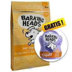BARKING HEADS Fat Dog Slim LIGHT 12 kg + DÁREK