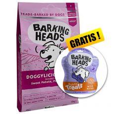 BARKING HEADS Doggylicious Duck GF ADULT 12 kg + DÁREK