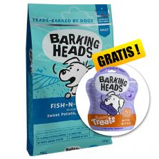 Barking Heads Fish-N-Delish Grain Free 12 kg + DÁREK