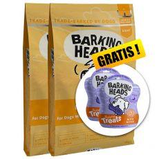 BARKING HEADS Fat Dog Slim LIGHT 2 x 12 kg + DÁREK