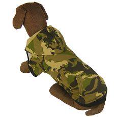 Mikina pro velkého psa MASKÁČ s kapucí L-S