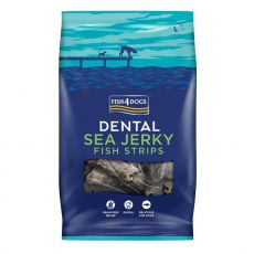 FISH4DOGS Dental Sea Jerky Fish Strips 500 g
