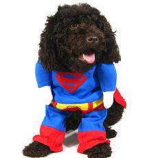 Karnevalové oblečení pro psa SUPERMAN - L