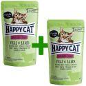 Kapsička Happy Cat ALL MEAT Adult Sterilised Veal & Lamb 85 g 1+1 ZDARMA
