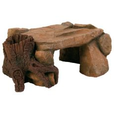 Dekorace - Skalní plošina s kořenem