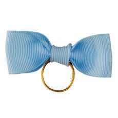 Mašlička pro psa - světle modrá, 5 cm