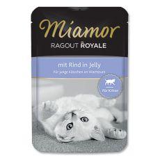 MIAMOR Ragout Kitten hovězí kapsička 100g