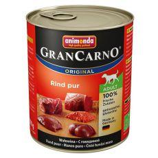 Konzerva GranCarno Fleisch Adult hovězí maso - 800 g