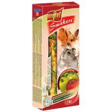 Vitapol Smakers Jablkové tyčinky pro hlodavce 90 g