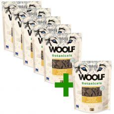 Woolf Botanicals Chicken stripes with yucca 80 g 5+1 GRATIS