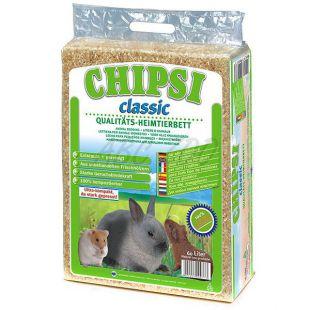 CHIPSI Classic - Hoblinová podestýlka pro hlodavce 60 l