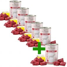 NUEVO Dog Sensitive BEEF 400 g 5+1 GRATIS