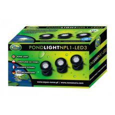 Osvětlení do jezírka NPL1-3LED 3 x 1,6 W