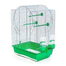Klec pro papouška - EMMA II chrom - 45 x 32 x 64 cm
