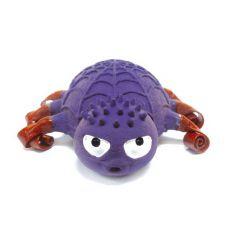 Latexová hračka pro psy - pavouk fialové barvy