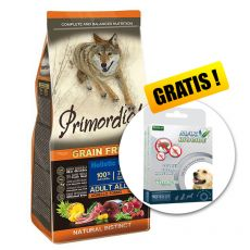 Primordial GF Adult Tuna & Lamb 12kg + DÁREK