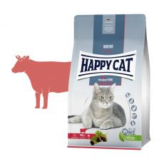 Happy Cat Indoor Voralpen-Rind / Hovězí 4 kg