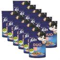 Kapsička Felix Fantastic Duo s lahodnou chutí lososa a sardinek v želé 12 x 85 g