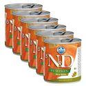 Farmina N&D dog Duck & Pumpkin konzerva 6 x 285 g