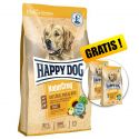 Happy Dog NaturCroq Geflügel Pur & Reis 15 kg + DÁREK