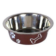 Miska pro psa - hnědá, 1,8 l
