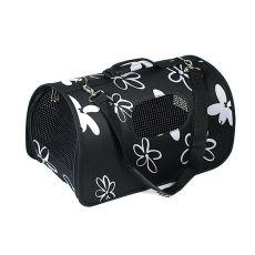 Přepravka pro psy a kočky - černá, 43,5 x 25 x 25 cm