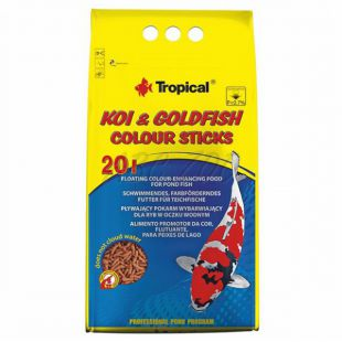 TROPICAL Koi goldfish colour sticks 20 l