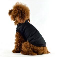 Tričko pro psa s krátkým rukávem - černé, L