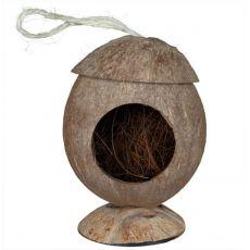 Domek pro hlodavce - kokosový, závěsný, 12 cm
