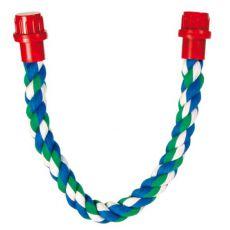 Bidlo pro ptáky - bavlněné lano, 37 cm