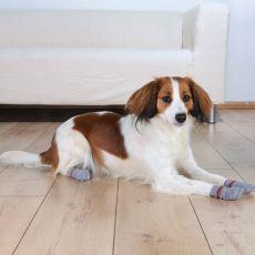 Ponožky pro psy - protiskluzové 2 ks, M - L