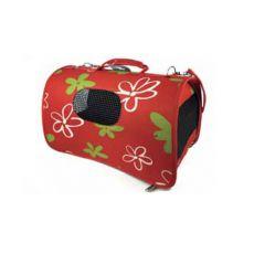 Přepravka pro psy a kočky - červená, 43,5 x 25 x 25 cm