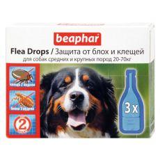 Pipety proti blechám a klíšťatům pro psy 20–70kg