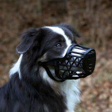 Náhubek pro psa, plastový - velikost M, 20 cm