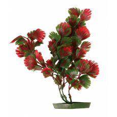 Rostlina do akvária -  plastová, 28 cm červenozelené listy