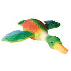 Hračka pro psy - barevná kačena, 30 cm