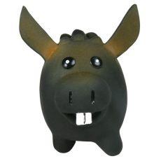 Hračka pro psa - latexový oslík, 8 x 11 cm