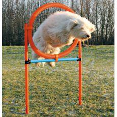 Agility překážka pro psy, kruh 115x65 cm