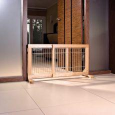 Bariéra pro psy, posuvná 63-108x50x31 cm