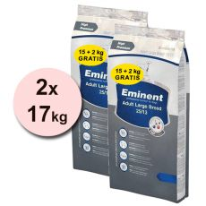 EMINENT Adult Large Breed - 2 x 17 kg