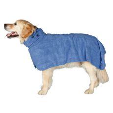 Župan pro psy - modrý, 75 cm