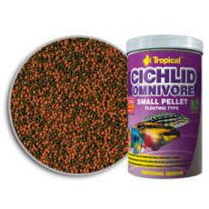 TROPICAL Cichlid Omnivore Pellet - Small 1000ml/360g