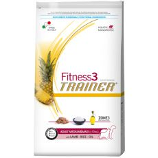 Trainer Fitness3 Adult MEDIUM MAXI - jehně s rýží 12,5 kg