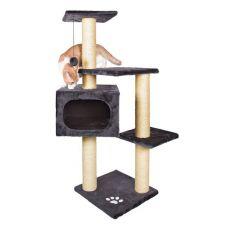 Drápadlo pro kočky PALAMOS - plyšové, 109 cm