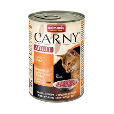 Krmivo CARNY ADULT hovězí + kuřecí maso - 400 g